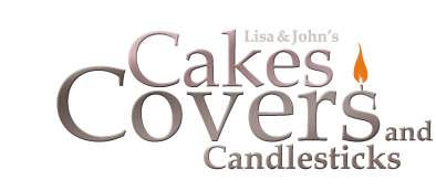 Lisa & John's Cakes Covers & Candlesticks